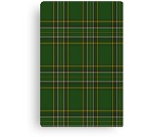 Irish National Fashion Tartan Canvas Print