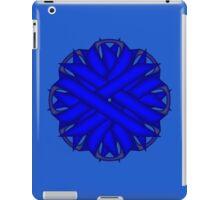 Blue Flower Ribbon iPad Case/Skin