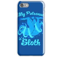 My Patronus Is Sloth iPhone Case/Skin