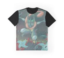 Water Shuriken_Painted Graphic T-Shirt