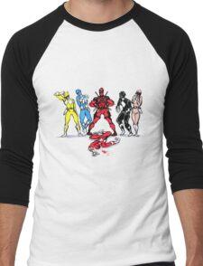 The new Power Ranger Men's Baseball ¾ T-Shirt