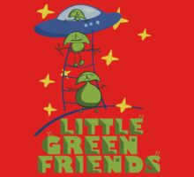 Little Green Friends Baby Tee