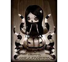 Halloween Doll Photographic Print