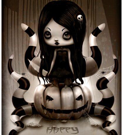 Halloween Doll Sticker