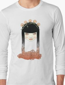 Spaghetti girl Long Sleeve T-Shirt