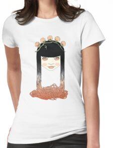 Spaghetti girl Womens Fitted T-Shirt