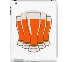 Beer drinking beer glass iPad Case/Skin