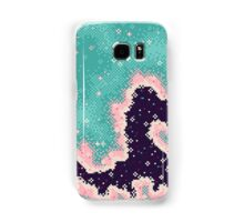 Pink and Mint Rift Galaxy Samsung Galaxy Case/Skin