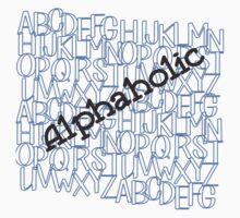 Alphaholic Kids Tee