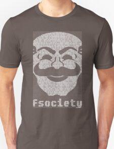 mr._robot_-_fsociety_2.dat Unisex T-Shirt