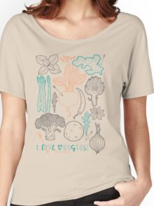 I love vegetables! Women's Relaxed Fit T-Shirt