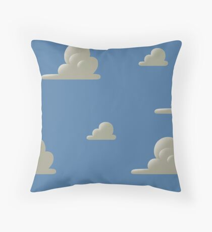 Toy Story - Andy's room Throw Pillow