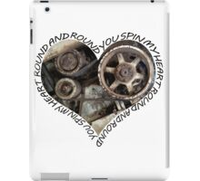 Mechanical heart - You spin my heart iPad Case/Skin