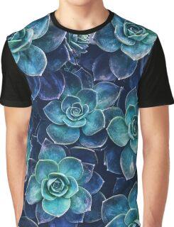 Succulents Graphic T-Shirt
