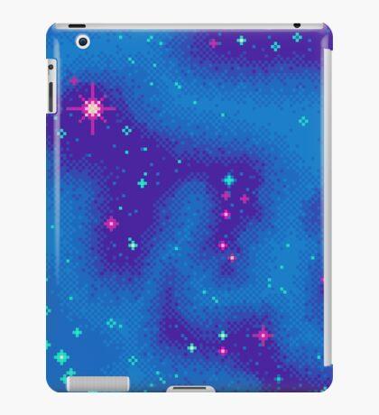 Indigo Nebula (8bit) iPad Case/Skin