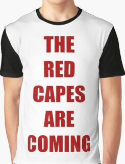 Batman vs Superman The red capes are coming Graphic T-Shirt