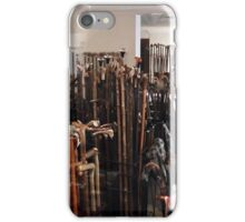 """ The Walking Stick Shop"" iPhone Case/Skin"