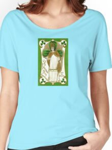 Victorian Saint Patrick Women's Relaxed Fit T-Shirt