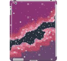 Pink Rift Galaxy (8bit) iPad Case/Skin