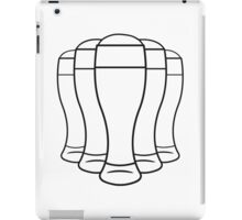 Beer drinking beer glass iPad Case/Skin
