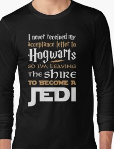 Harry Potter Star Wars Long Sleeve T-Shirt