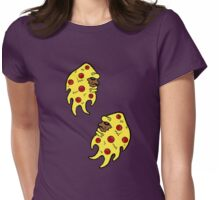 Sasquatch Pizza! Deluxe Womens Fitted T-Shirt