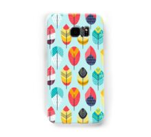 Fun Feathers (blue version) Samsung Galaxy Case/Skin