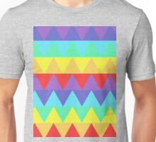 Pastel Rainbow Triangles Unisex T-Shirt