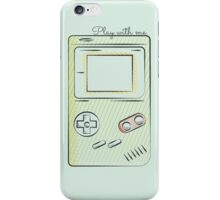 Play with me! iPhone Case/Skin