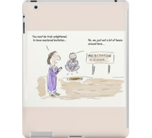 Meditation Guru Cartoon/Comic Humour/Humor iPad Case/Skin