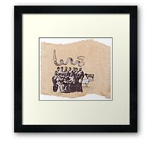Der Rinderbaron Framed Print