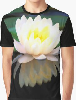 Lovely Waterlily Graphic T-Shirt