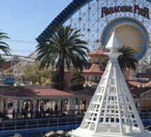 Paradise Pier Shot Sticker