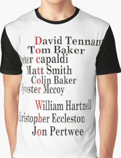 Doctor Who edit Graphic T-Shirt