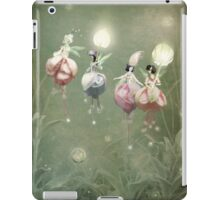 Floating Fuchsia Fairies iPad Case/Skin