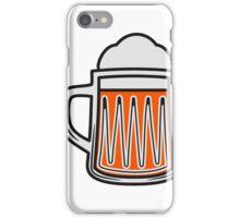 Beer tankard beer glass iPhone Case/Skin