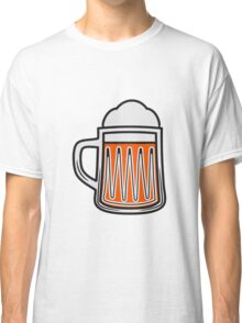 Beer tankard beer glass Classic T-Shirt
