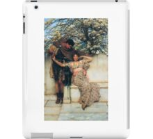 promise-of-spring by Lawrence Alma-Tadema iPad Case/Skin