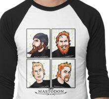 Mastotoons Men's Baseball ¾ T-Shirt
