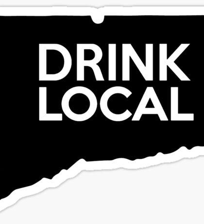 Connecticut Drink Local CT Sticker