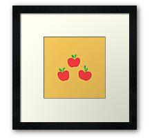 Applejack Cutie Mark Framed Print