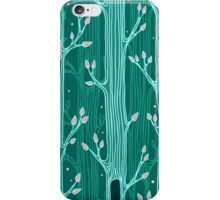 Seamless pattern with trees iPhone Case/Skin
