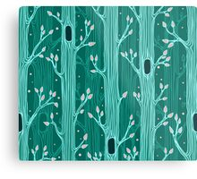 Seamless pattern with trees Metal Print