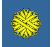 Yellow Flower Ribbon Photographic Print