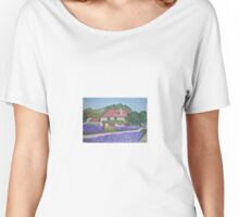 Lavender in the French Countryside Women's Relaxed Fit T-Shirt