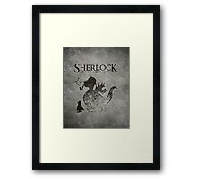 Sherlock: A Scandal in Middle-earth Framed Print