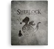 Sherlock: A Scandal in Middle-earth Metal Print