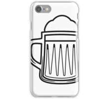 Beer tankard beer glass iPhone Case/Skin