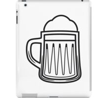 Beer tankard beer glass iPad Case/Skin