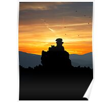 Sunrise At Mono Lake .2 Poster
